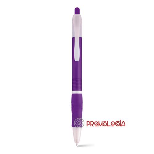 Bolígrafo con pulsador promocional.