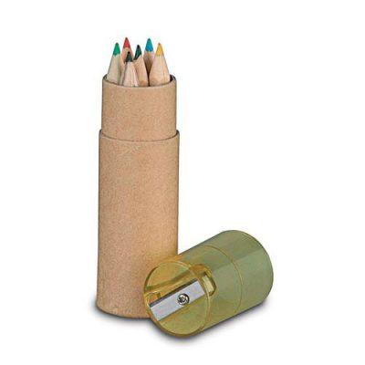 Estuche promocional lápices