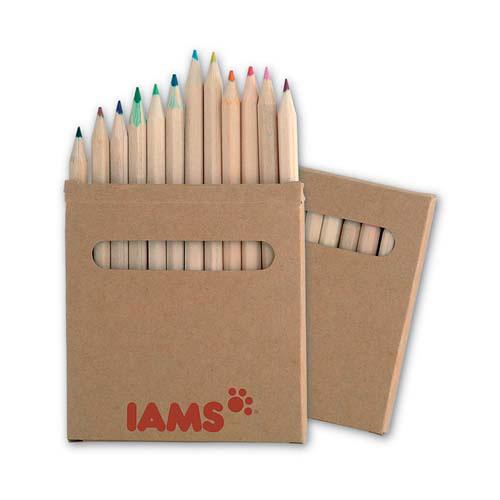 Lápices publicitarios de colores