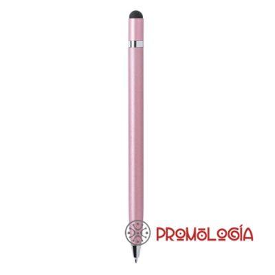 Bolígrafo aluminio con puntero.
